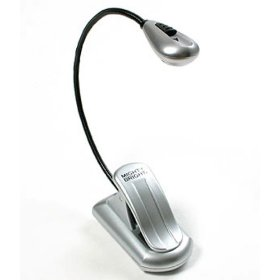 Mighty Bright XtraFlex LED Music Light Silver