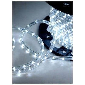 Cool White 6.6 FT 110V-120V LED Rope light Kit, 1.0