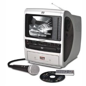 Emerson DT558 Portable Karaoke DVD/CD+G System