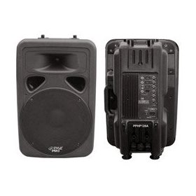 Pyle PPHP1298A 800 Watt Powered 12-Inch Two Way Plastic Molded Loudspeaker