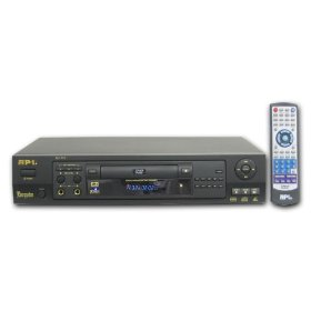 API DV-702 Professional DVD / DVD+R/RW / MPEG4 / CD+G / VCD Rack-Mountable Karaoke Player