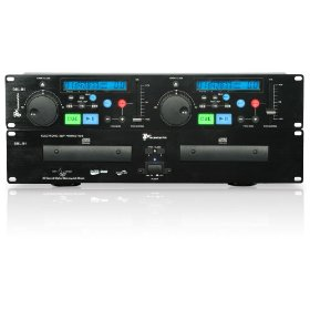 Technical Pro DBL-B6 Double CD Player (Black)