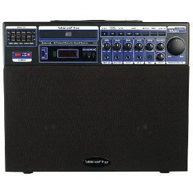 VocoPro Soundman 80W 4 Channel Portable Sound System