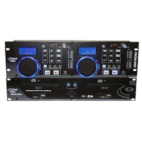 Pyle-Pro PDCD610MU - Professional Dual CD/MP3 Player with USB Input