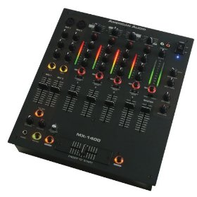 American Audio MX-1400 6 Channel DJ Mixer