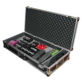 Odyssey FZGPEDAL32W Flight Zone 32 Guitar Pedal Board Ata Case With Wheels