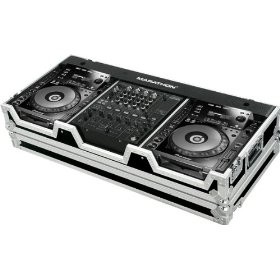 Marathon Flight Ready Case MA-CDJ2K12W Coffin Holds 2 X Large Format CD Players + 12-Inch Mixer