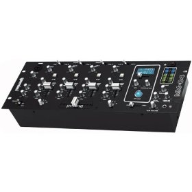 Mobile 4-CHANNEL Rack-mount Dj Mixer with Dsp