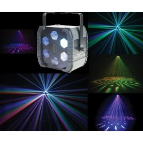 American DJ Tri Phase LED Powered Color Changing Effect Light