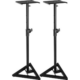 Musician's Gear SMS-6000 Monitor Stand Buy 1 Get 1 Free