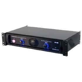 Pyramid XPA480 19-Inch Rack Mount 4800 Watt Powered Amplifier