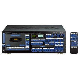 VocoPro CDG-6000 RV 250W Professional Variable Speed Digital Key Control CD/CD+G/ Cassette System With Digital Reverb