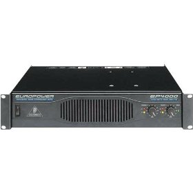 Behringer EUROPOWER EP4000 4,000-Watt Stereo Power Amplifier with ATR