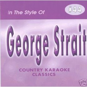 GEORGE STRAIT Country Karaoke Classics CDG Music CD