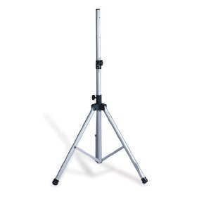 Brand New Technical Pro Pts30 Silver Pole Mount Dj Speaker/monitor Stand + Carry Case