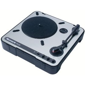 Numark PT01 Portable DJ Turntable