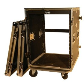 Brand New Tov T-14rss 14u Dj Vertical Flight Rack Case - Signature Series with Thicker 3/8