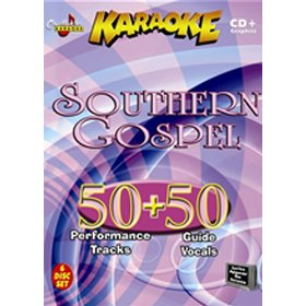 Chartbuster ESP478 Southern Gospel 6 Disc Set - 50 Songs