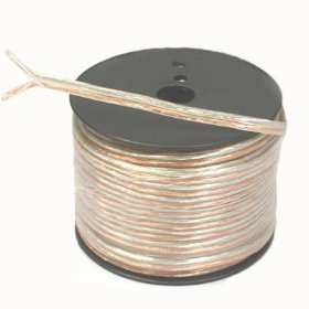 New 14 Gauge Home DJ PA Karaoke Premium Speaker Wire 100 Foot Roll SW14