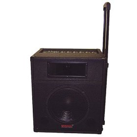 Nady RPA-6 Six Channel One Piece Portable Sound System, 130 Watts