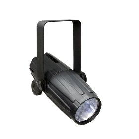 Chauvet Led Pinspot 2 High Powered Efficient Mirror Ball Spot Light with Gel Pack and Extra Lens