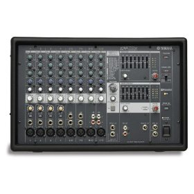 Yamaha EMX512SC 8 Input Powered Mixer with Dual 500 Watt Amplifier