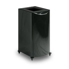 Atlantic Technology 8200eLR-PED-GLB Pedestal Stands for 8200e LR's (Single, Gloss Black)