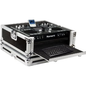 Marathon Flight Ready Case MA-IDJ2V2 Case To Hold 1 X Numark IDJ2 Ipod Mixer Station Controller + Keyboard Tray