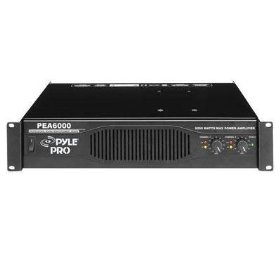 Pyle-Pro - Professional 6000 Watts Stereo Power Amplifier