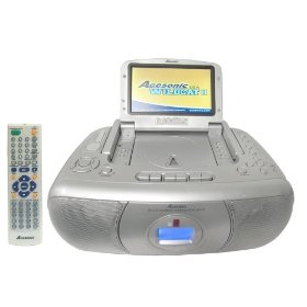 Acesonic Wildcat II - Portable Multi-Format Karaoke Player