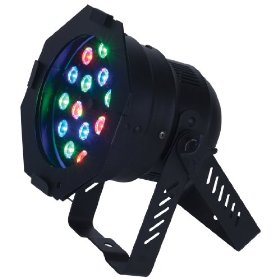 American DJ 46 HP Black Par 46 RGB Color mixing LED Par Can