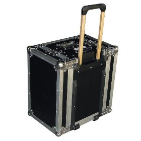Odyssey FZER6HW Flight Zone Ata 6 Space Effects Rack With Handle & Wheels