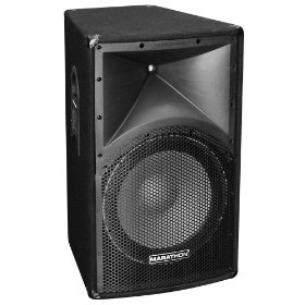 Marathon Entertainer Series ENT-115 Single 15-Inch Two Way Loudspeaker