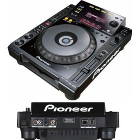Pioneer New multi-format digital turntables w/native playback of key DJ digital media files