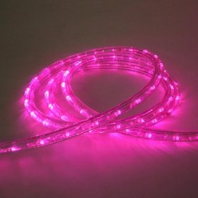 Pink 25 FT 110V-120V LED Rope light Kit, 1.0