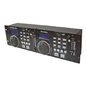 Pyle-Pro PDJ350U - Professional DJ MP3/USB/SD Card Player
