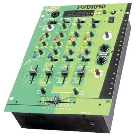 Pyle-Pro PYD1010 - 10'' Three Channel DJ Trick Mixer