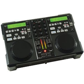 American Audio CK-1000MP3 Dual CD / MP3 Player with Mixer In One With Scratch Feature
