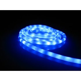 50Ft Rope Lights; Lavender Blue LED Rope Light Kit; 1.0