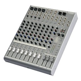 Samson SAMDR1248 MDR1248 MDR 12-channel 4-bus Mixer With DSP