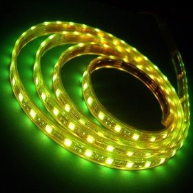 Flexible Lighting Strip 300 SMD LED Ribbon 5 Meter or 16.4 Ft 12 volt Green, 2026GN