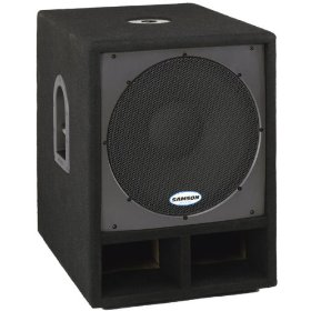 Samson SARS15S RS15S PA Subwoofer Cabinet 15 in. Driver