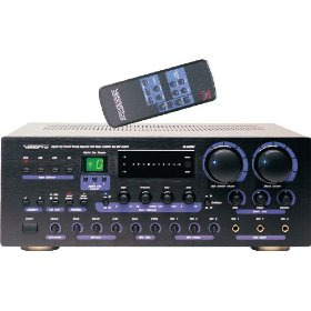 VocoPro  DA-8909RV 360W Professional Digital Key Control Mixing Amplifier w/Vocal Enhancer