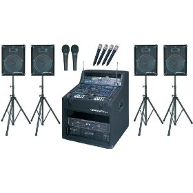 VocoPro CLUB 9001 G 2000W Professional Club System