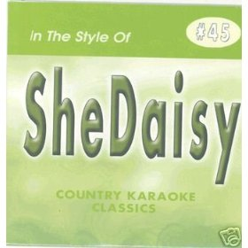 SHEDAISY Country Karaoke Classics CDG Music CD