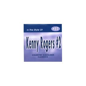 KENNY ROGERS #2 Country Karaoke Classics CDG Music CD