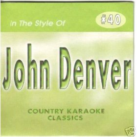 JOHN DENVER Country Karaoke Classics CDG Music CD