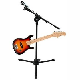 Emerson RS827 32in Electric Sunburst Guitar and Plug 'N' Sing Karaoke System