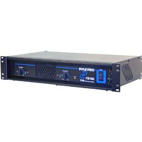 PYLE PZR6XA 2200 Watt Professional DJ Power Amplifier