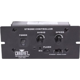 Chauvet Basic Strobe Controller - Sound Activated with Cable
